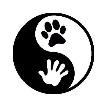Dog & Human Yin-Yang by imotvoksim