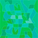 Cyber Field Geometric Abstraction by camzhu