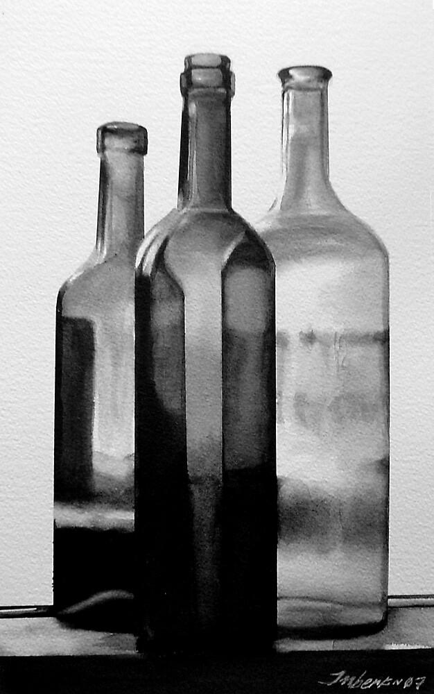 Wine Bottles by lupen52