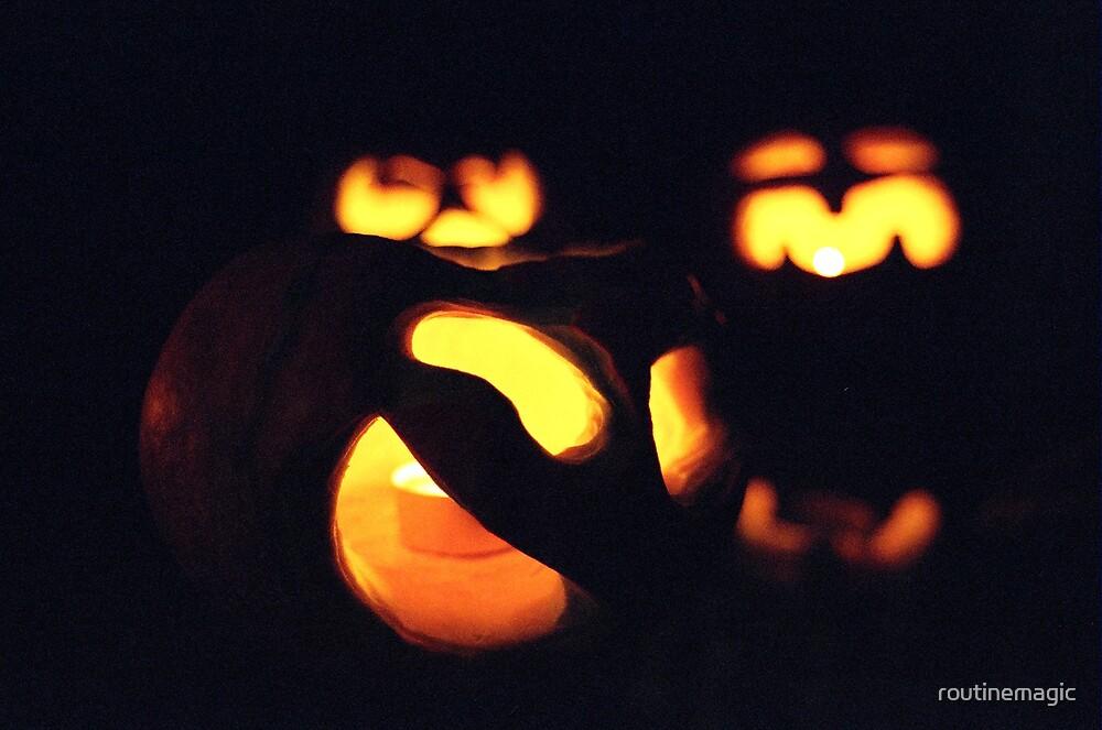 Jack o'Lanterns by routinemagic