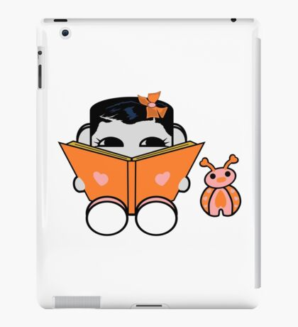 Opso Yo & Epo Love to Read: O'BABYBOT Toy Robot 1.0 iPad Case/Skin