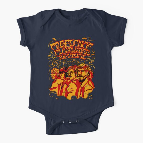Creedence Clearwater Revival, CCR Short Sleeve Baby One-Piece