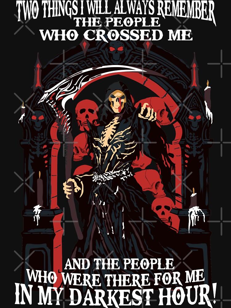Goth Skull Darkest Hour T Shirt Hoodie & More by 2stevos