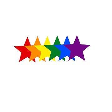 Pride stars by DancingPrince