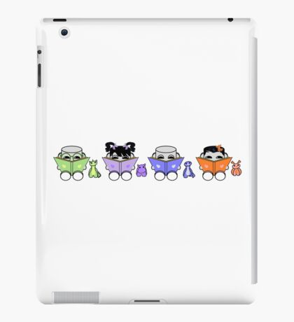 Reading is a Family Affair: The Yo O'BABYBOT Toy Robots 1.0 iPad Case/Skin