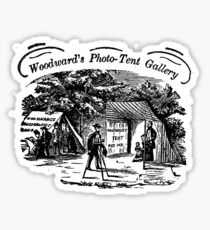 Woodward's Photographic Tent Sticker
