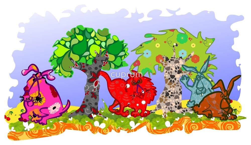 Multicolour Designer Pets by cuprum