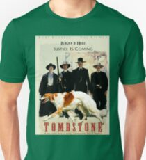 Borzoi Art - Tombstone Movie Poster Art Unisex T-Shirt