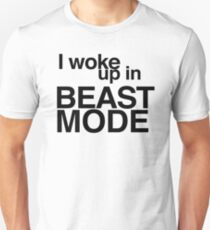I woke up in BEAST MODE - Big Sean - Bounce Back T-Shirt