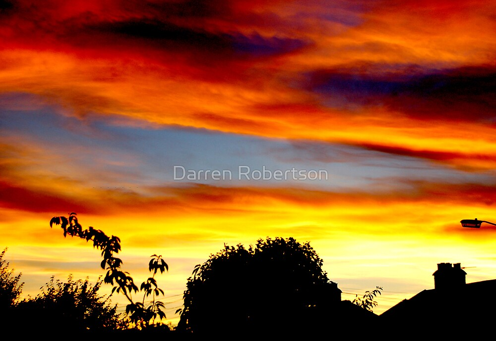 A Study of Sunsets (Norbury London 2007) by Darren Robertson