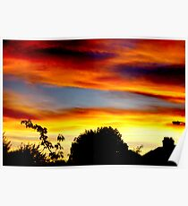 A Study of Sunsets (Norbury London 2007) Poster