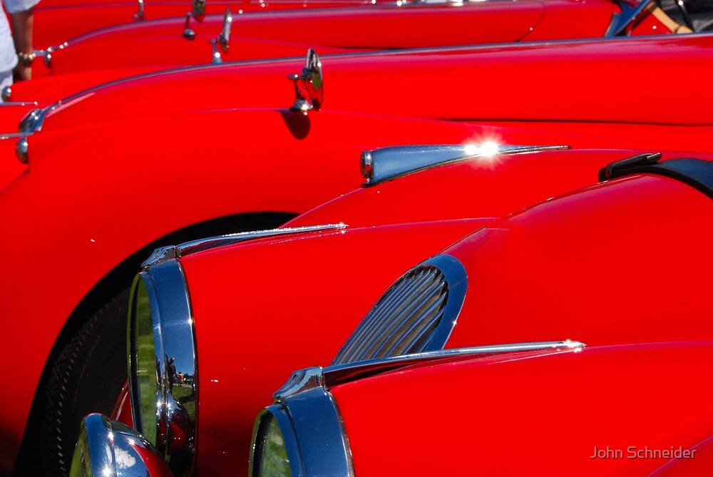 Will the owner of the red car... by John Schneider