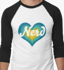 Retro NERD Men's Baseball ¾ T-Shirt
