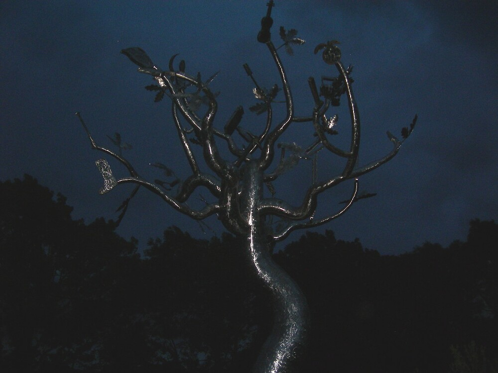 Metal Tree by Emmett  Cathcart