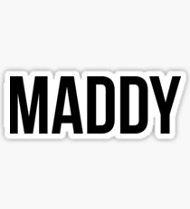 Maddy Sticker