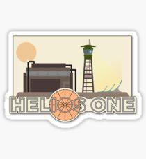 Fallout New Vegas, Helios One fanart Sticker