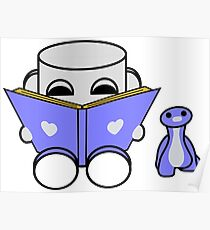 Popo Yo & Rawr Love to Read: O'BABYBOT Toy Robot 1.0 Poster