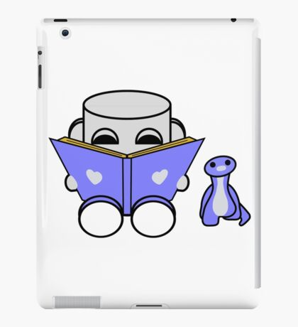 Popo Yo & Rawr Love to Read: O'BABYBOT Toy Robot 1.0 iPad Case/Skin