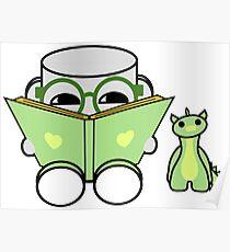 Yobo Yo & Deeogee Love to Read: O'BABYBOT Toy Robot 1.0 Poster