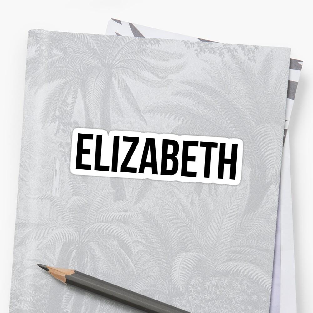 Elizabeth by Samantha Sargen