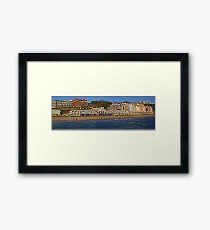 Boscombe Overstrand Panorama Framed Print