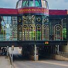 The Canadian Pacific Railway Bridge, Calgary, AB by Gerda Grice