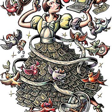 Financial Self Improvement Cinderella by LisaHaney