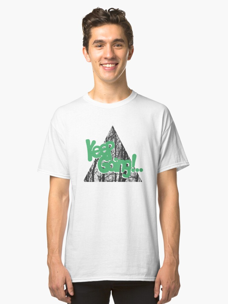 Alternate view of KEEP GO/NG Classic T-Shirt