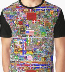 Reddit Place Graphic T-Shirt