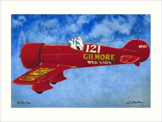 Will Bullas / art print / flyboys... / humor / animals by Will Bullas