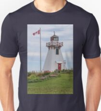 One of the Many Lighthouses in PEI, Canada Unisex T-Shirt