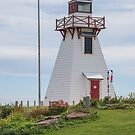 One of the Many Lighthouses in PEI, Canada by Gerda Grice