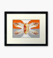 Angelic Reflection OG Framed Print