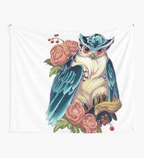 Irezumi Owl 002-001 Wall Tapestry