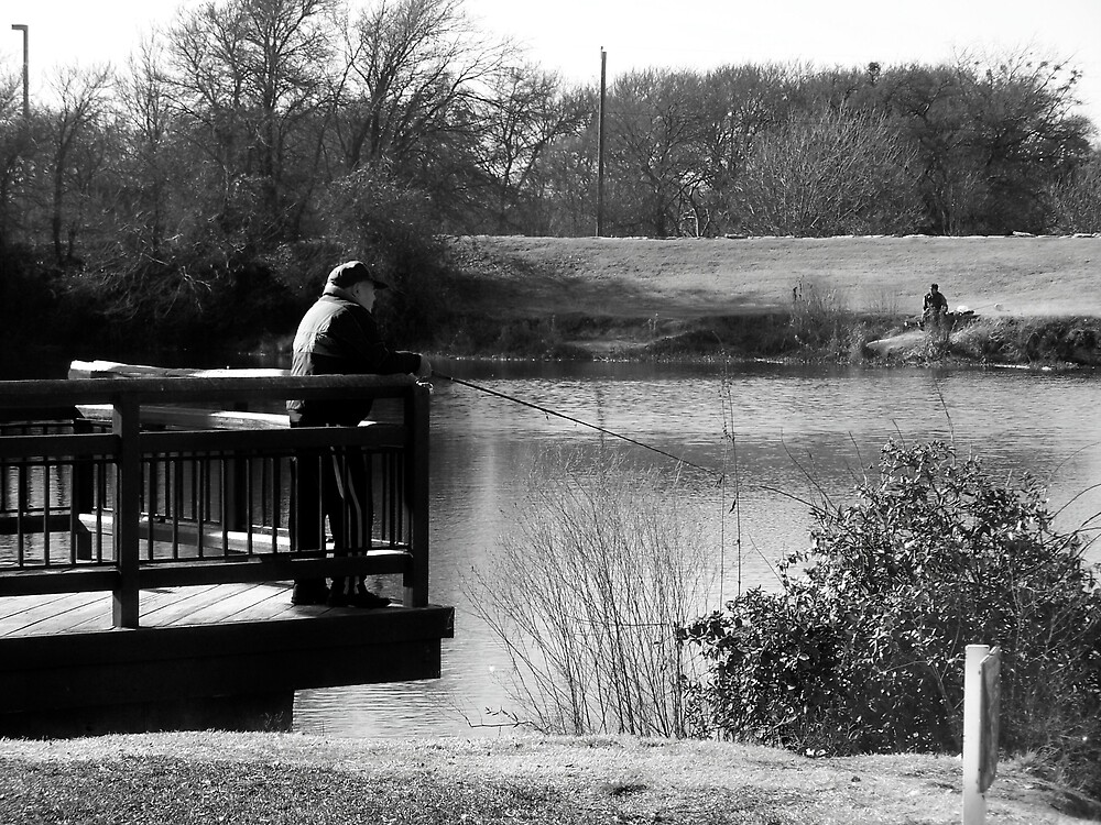 just fishin by M.  Photography
