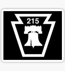 215 Liberty Bell Philadelphia Sticker