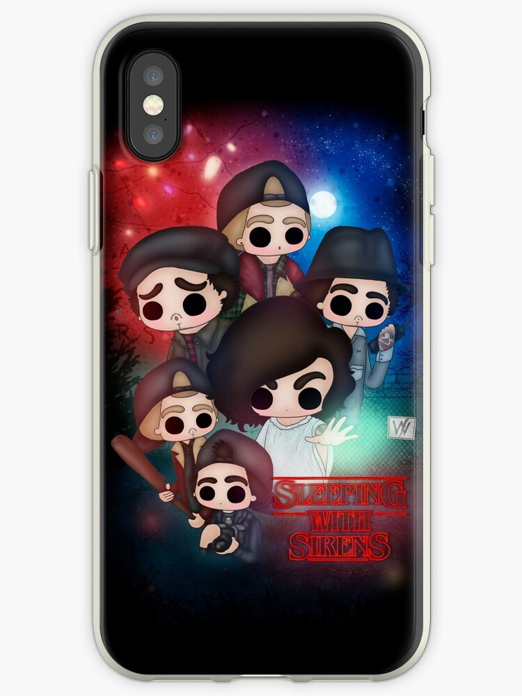 huge discount 352e0 04451 'SWS x Stranger Things' iPhone Case by itsgisellepr