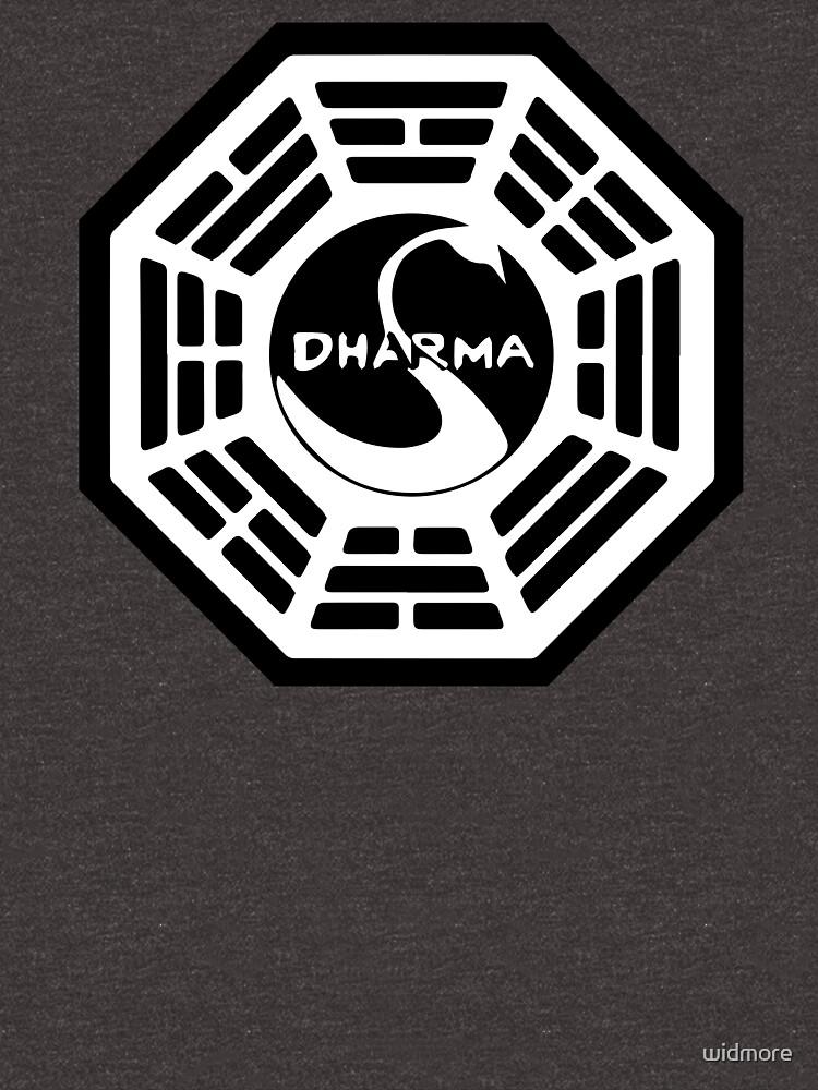 Dharma Initiative - The Swan Station Logo (Verlorene Fernsehshow) von widmore