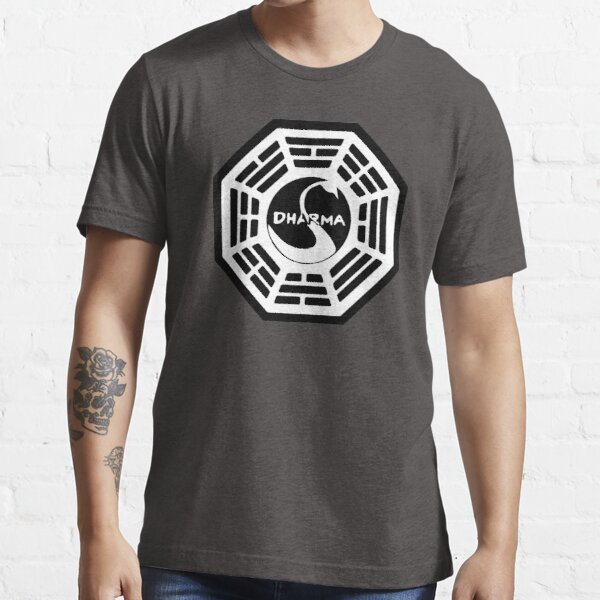 Dharma Initiative - The Swan Station Logo (Lost TV Show) Essential T-Shirt