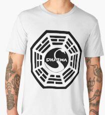 Dharma Initiative - The Swan Station Logo (Lost TV Show) Men's Premium T-Shirt