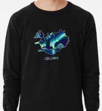 Island - Nordlichter Leichter Pullover