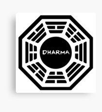 Dharma Initiative Logo (Lost TV Show) Canvas Print