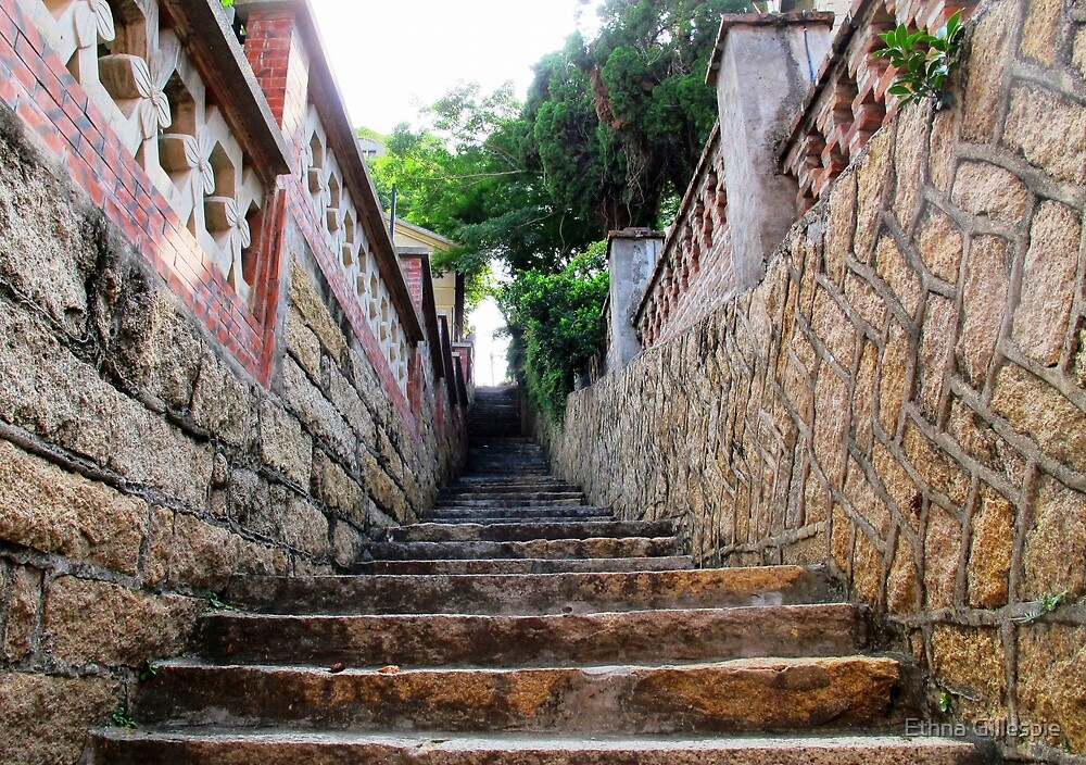 Stairs  by Ethna Gillespie