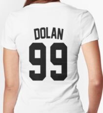 Dolan Twins Jersey - Black Edition Women's Fitted V-Neck T-Shirt