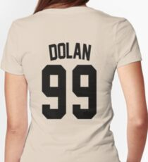 Dolan Twins Jersey - Black Edition Womens Fitted T-Shirt