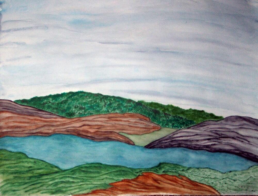 Mountain Lake by jillpedersen