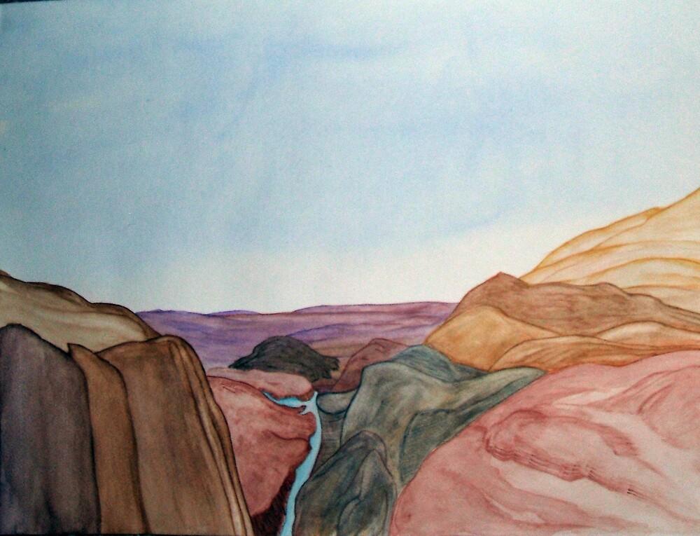Overlooking the Canyon by jillpedersen