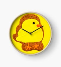 Easter Chick Biscuit Clock