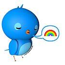 B.B. Bottoms - rainbow! by Eric Murphy