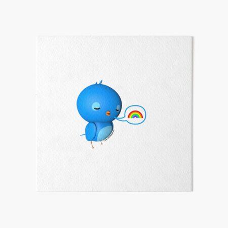 B.B. Bottoms - rainbow! Art Board Print